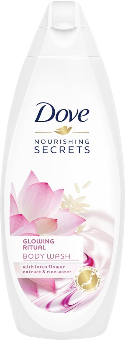 Dove Крем-гель для душа Сияние кожи, секреты увлажнения, 250 мл