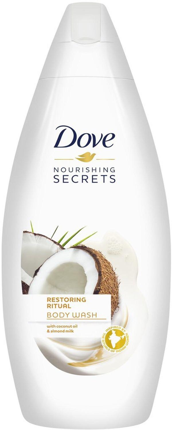 Dove Крем-гель для душа Восстанавливающий, секреты увлажнения, 250 мл