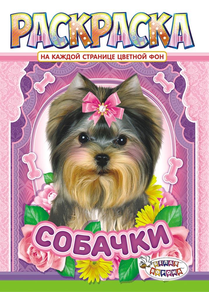 Раскраска ЛиС (А4) Собаки РКСБ-498 лис раскраска а4 для девочек рксб 465