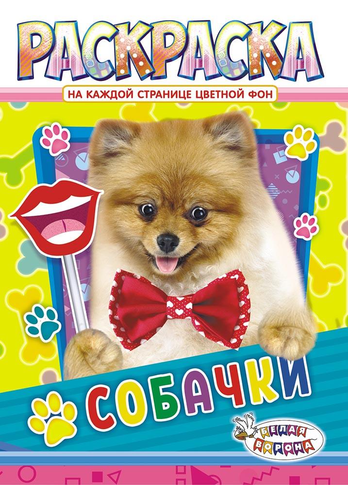 Раскраска ЛиС (А4) Собаки РКСБ-497 лис раскраска а4 для девочек рксб 465