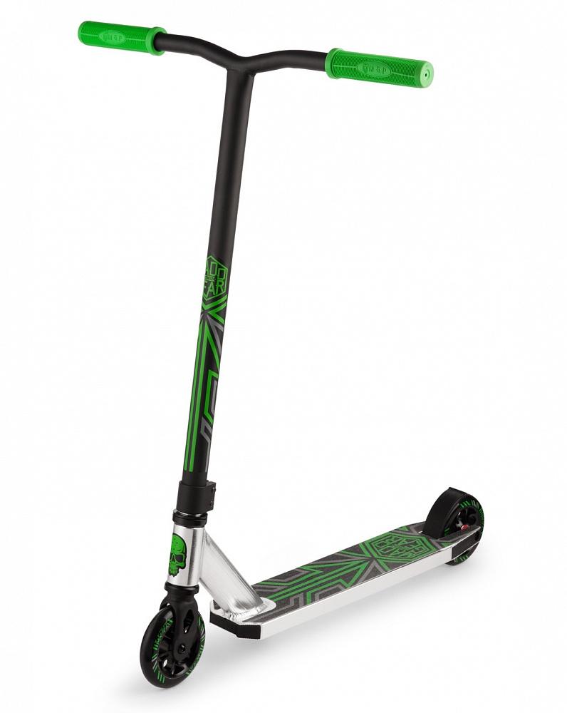 трехколесные самокаты Самокат Madd Gear Whip Extreme, зеленый