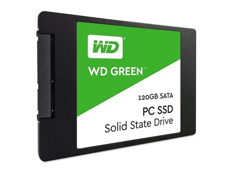 """SSD диск WD SSD 120GB Original, SATA-III, R/W - 465/540 MB/s, 2.5"""", TLC"""