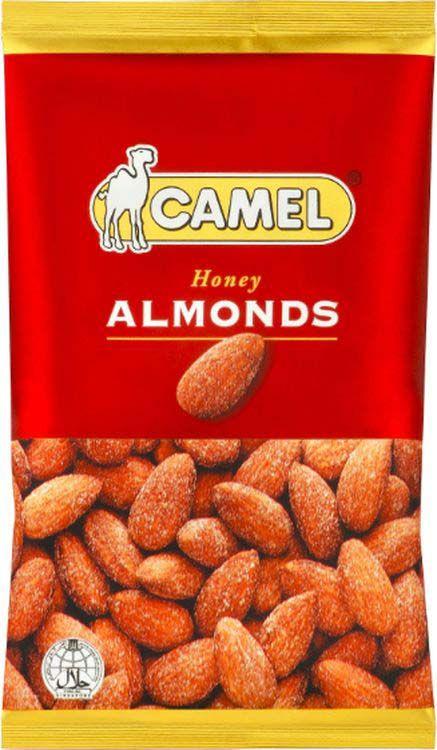 Миндаль жареный Camel Honey Almonds, с медовым вкусом, 40 г