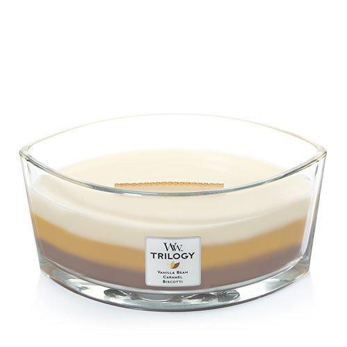 Свеча ароматизированная WoodWick 76904 ароматическая свеча woodwick лен маленькая
