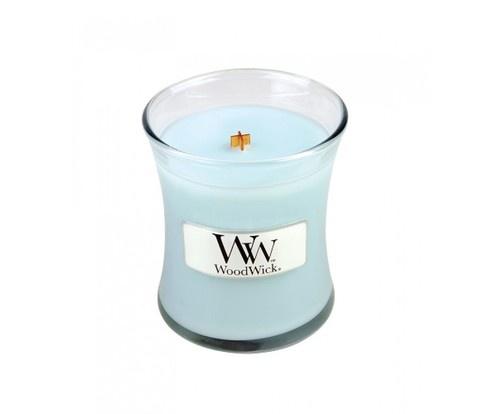 Свеча ароматизированная WoodWick 98489 ароматическая свеча woodwick лен маленькая