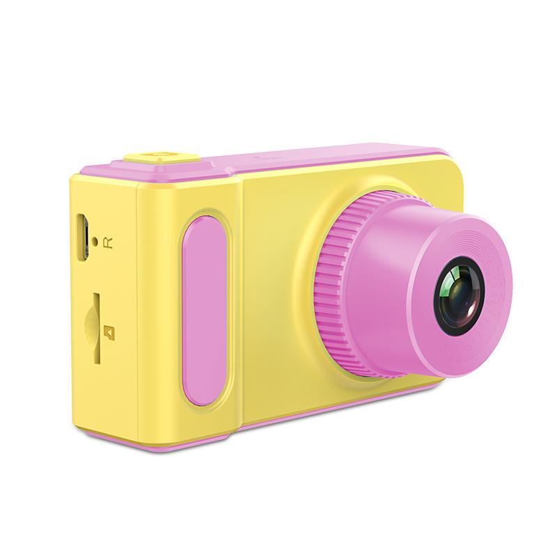 Защищенный фотоаппарат L. A. G DC-G19, желтый, розовый L.A.G
