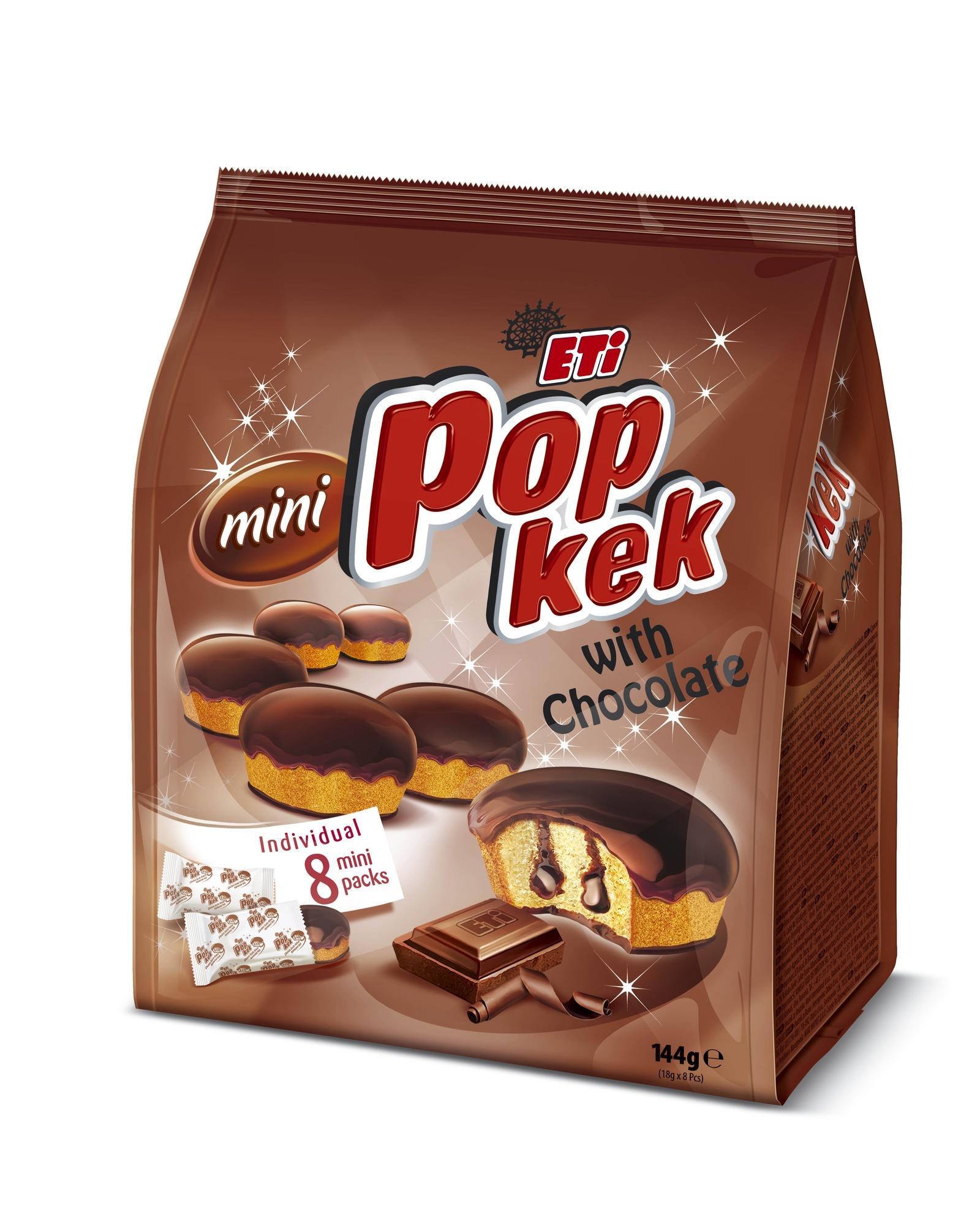Кекс ETI 0646-2, Крем-шоколад, 144 ETI