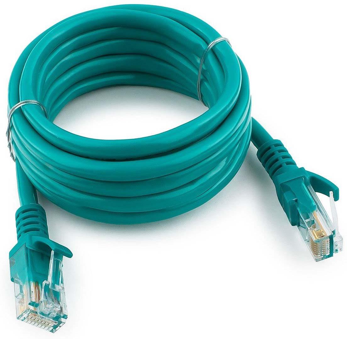 Кабель патч-корд UTP Cablexpert RJ-45, 2 м, PP12-2M/G, зеленый кабель патч корд utp cablexpert rj 45 5 м pp12 5m bk черный