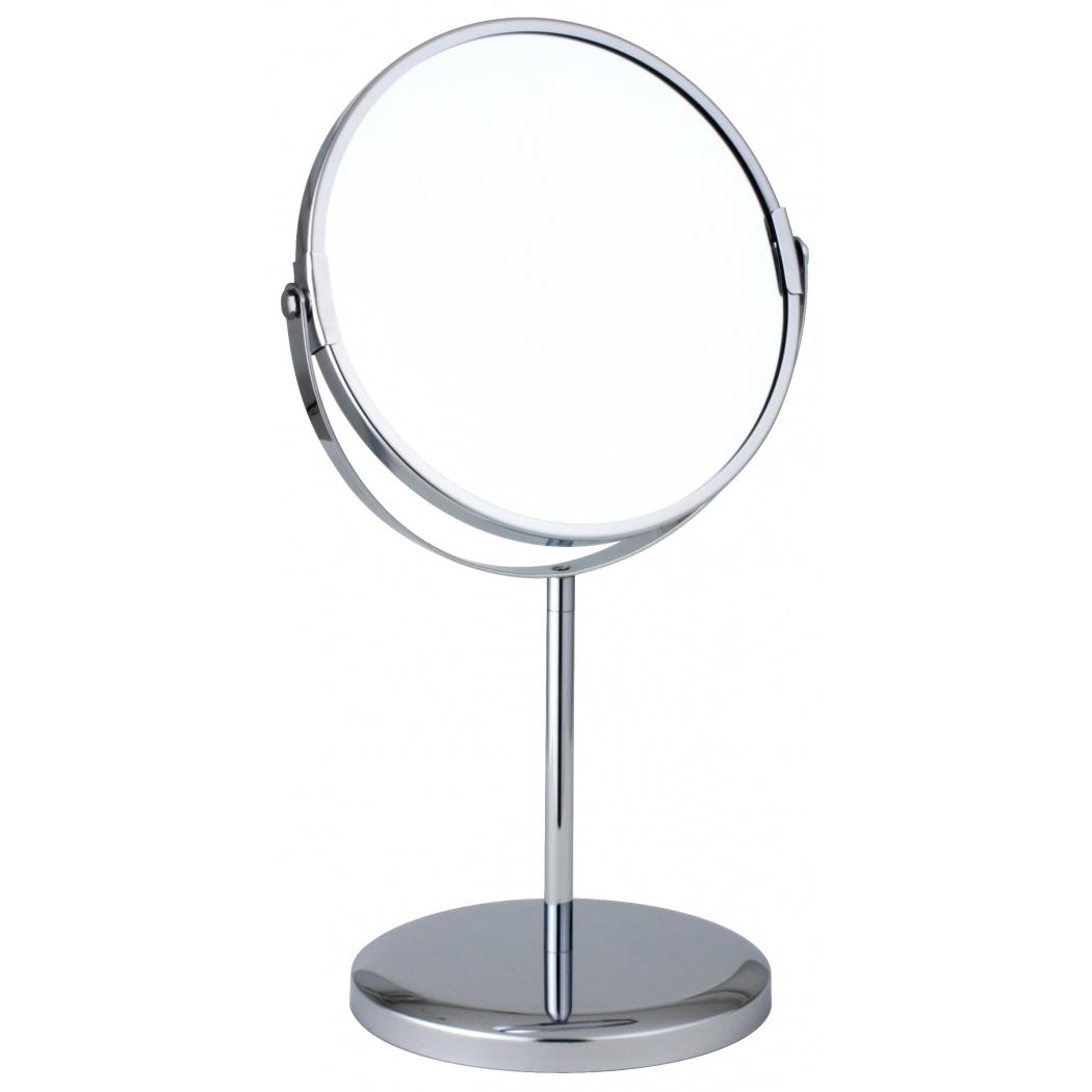 Зеркало косметическое Vanstore 507-90, серебристый зеркало зеркальные грани ivory