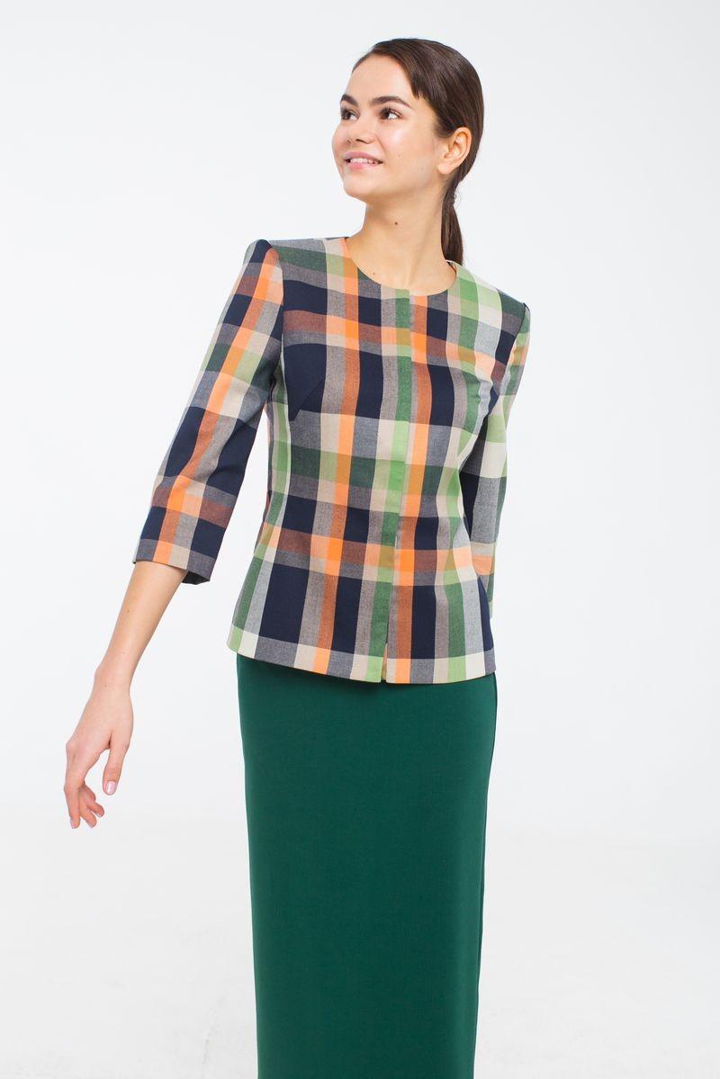 Жакет Модный дом Виктории Тишиной купить модный жакет женский недорого