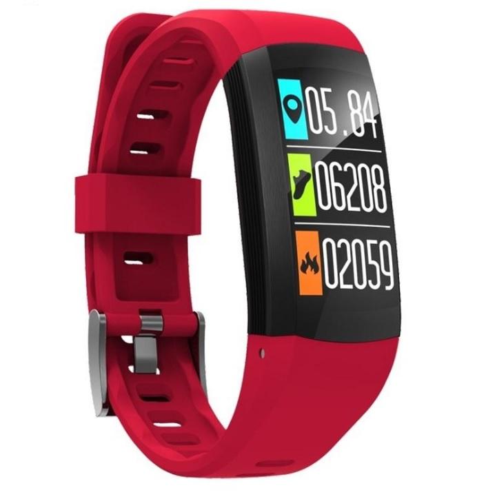 Фитнес-браслет ZDK S908, красный умный фитнес браслет zdk f3 3393 черно красный page 3 page 3