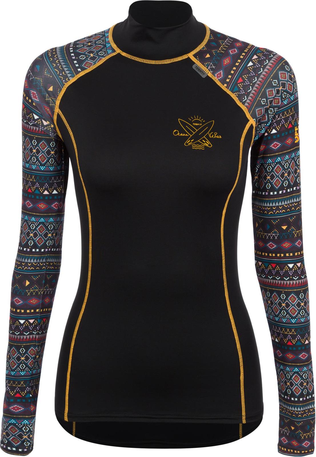 Лонгслив Termit туника женская termit women s blouse цвет разноцветный s19atetuw04 mx размер l 48