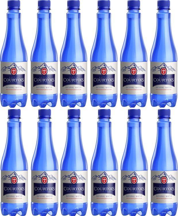 Вода Courtois, питьевая негазированная, 12 шт по 500 мл