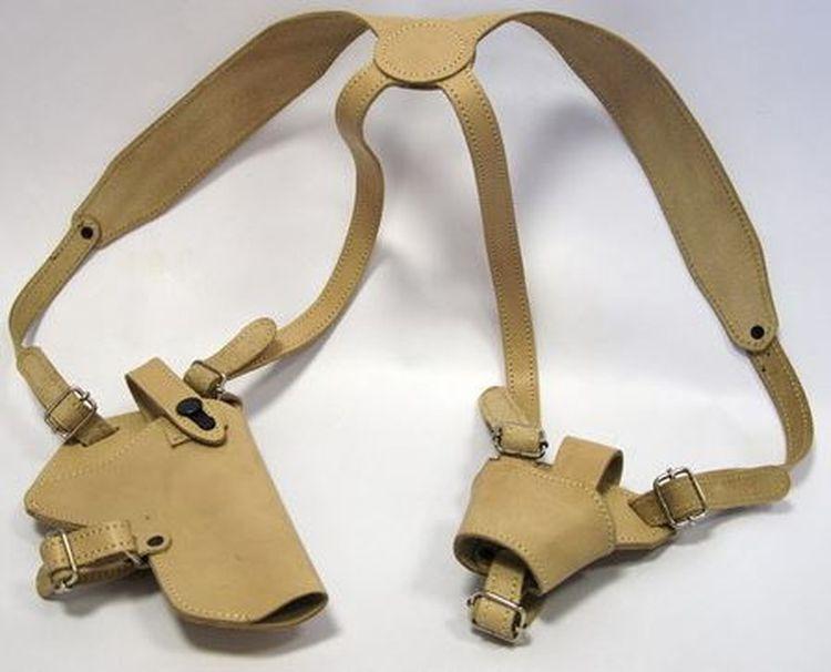 Кобура Ножемир ТТ Спец, оперативная, с чехлом под наручники, бежевый