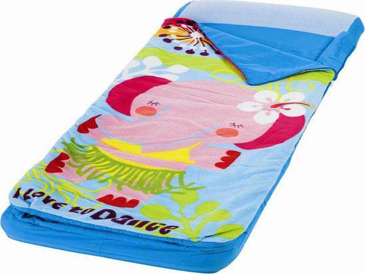 Матрас надувной Intex, с66802, детский, с покрывалом и подголовником, 64 х 152 х 20 см