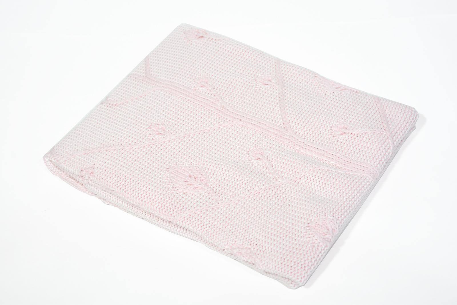 Детское покрывало Tivolyo home TREE, розовый, розовый