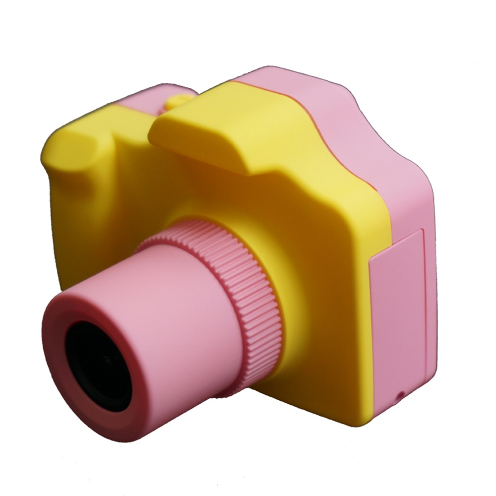 Защищенный фотоаппарат L.A.G mp1703, желтый, розовый