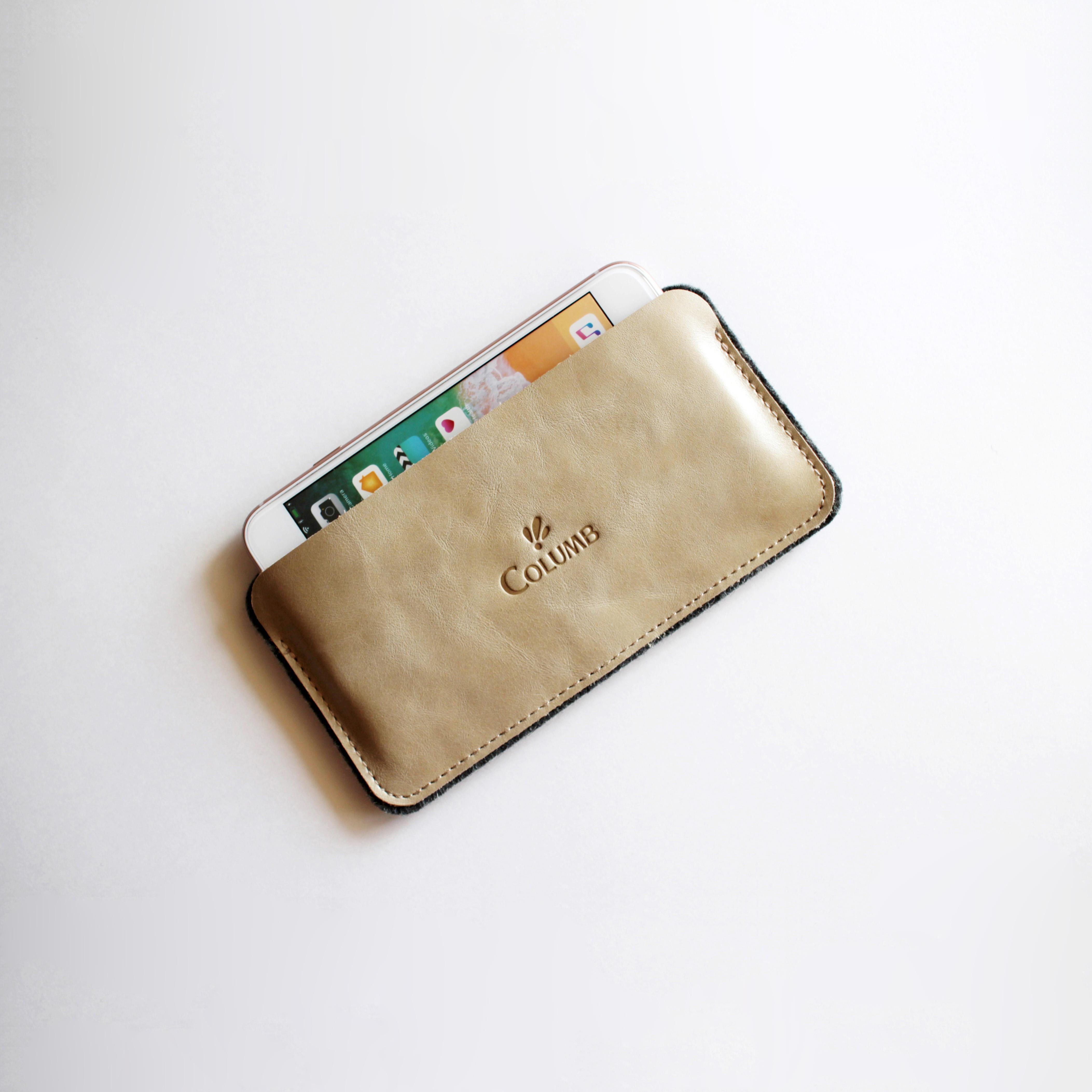 Чехол для сотового телефона Columb 02A02-L-LG, светло-серый, серый