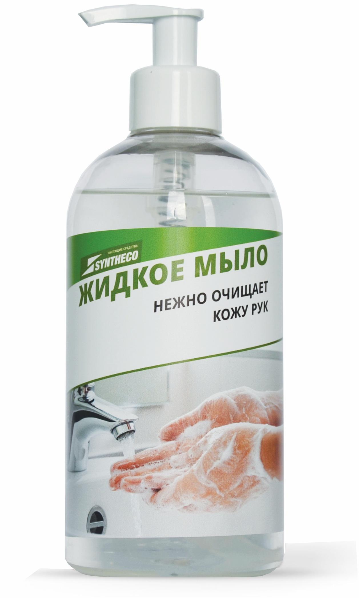 SynthecoЖидкое мыло Без красителей и без ароматизаторов, 0,5 кг Syntheco