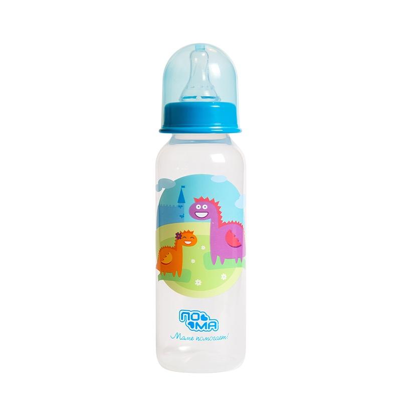 Бутылочка для кормления ПОМА Мечта голубой акриловая ванна besco rima 150x95 l