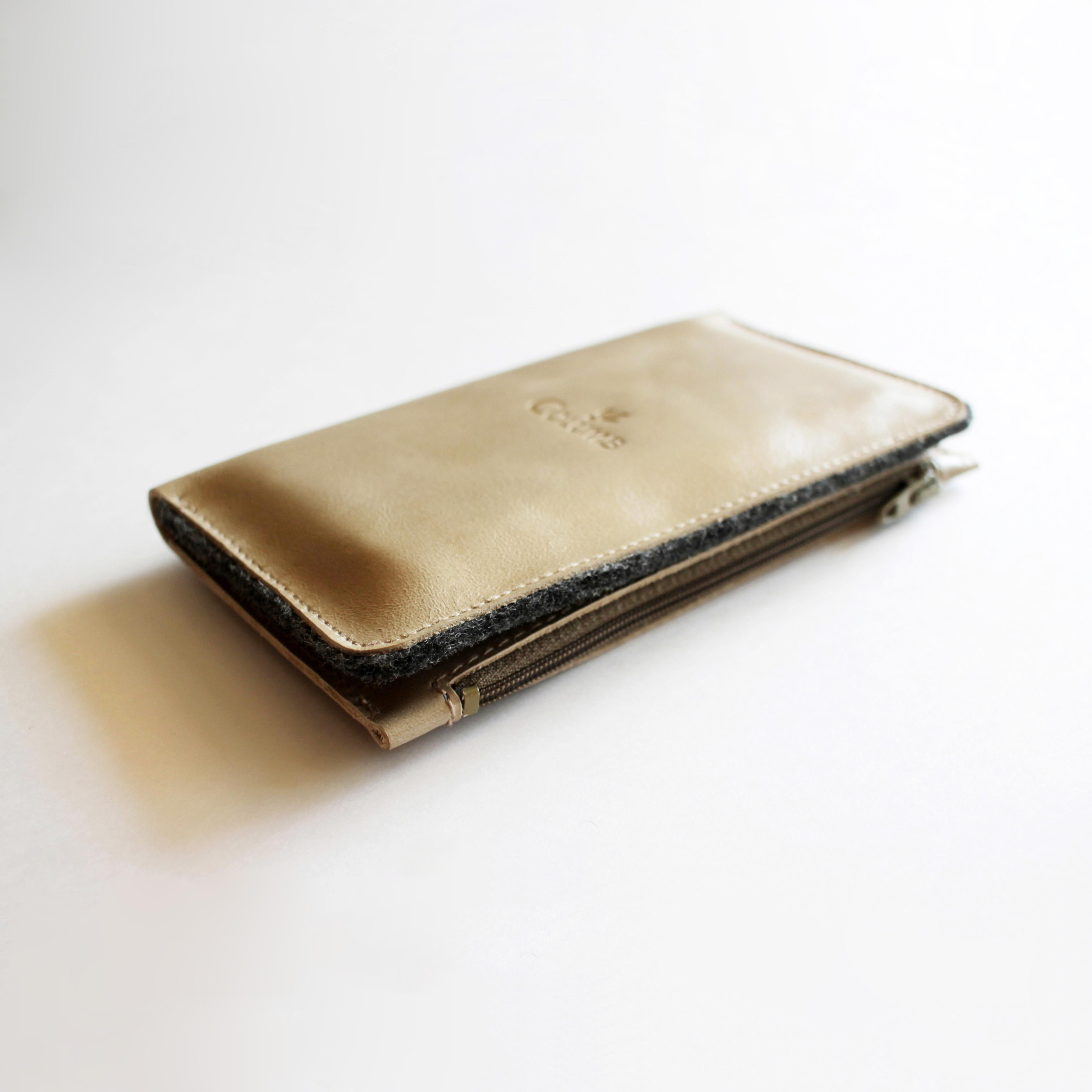 Чехол для сотового телефона Columb 02A06-LG, светло-серый, серый