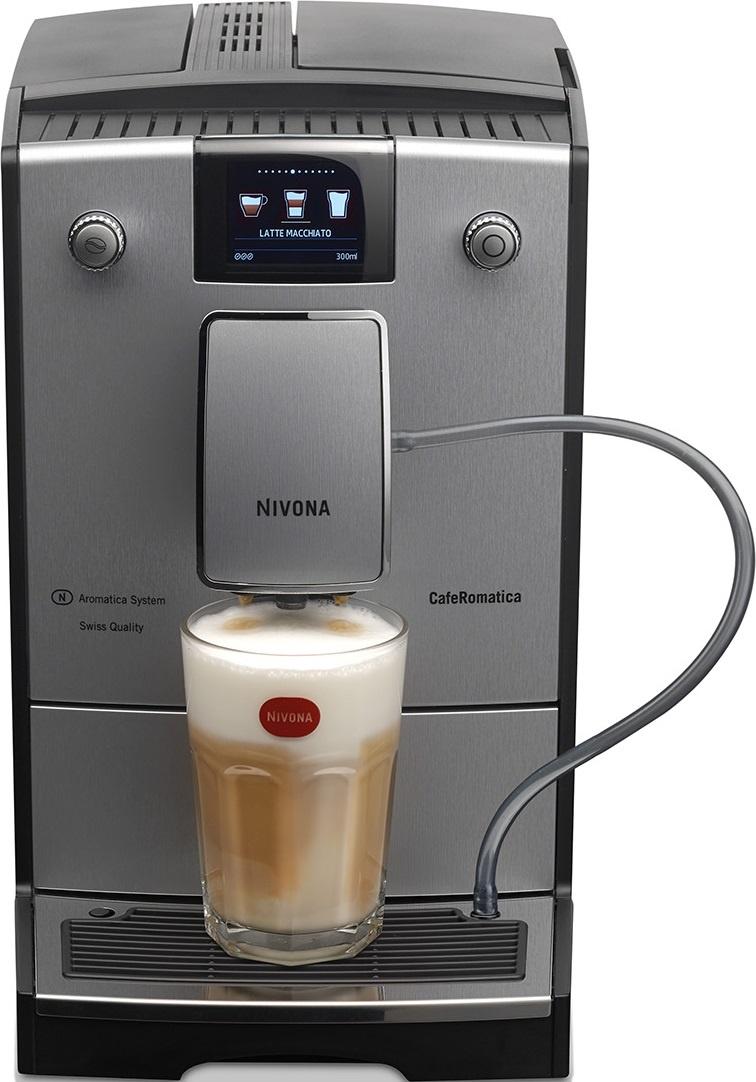 Кофемашина Nivona NICR 769, серебристый