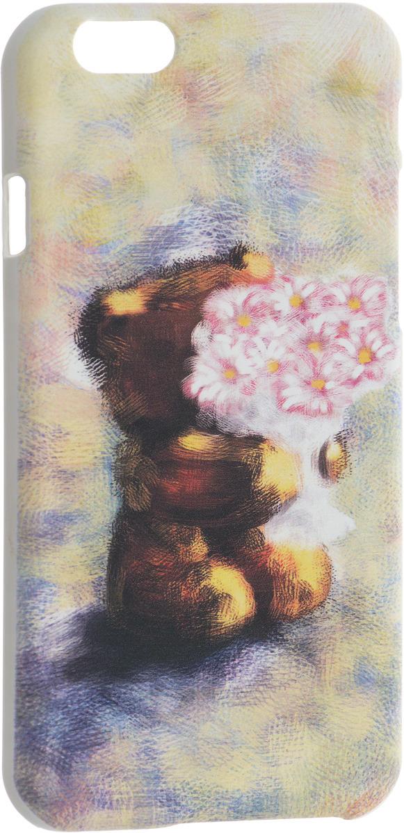 лучшая цена Чехол для сотового телефона Volume In Style Медведь с цветами для iPhone 6/6S, VSIPH068