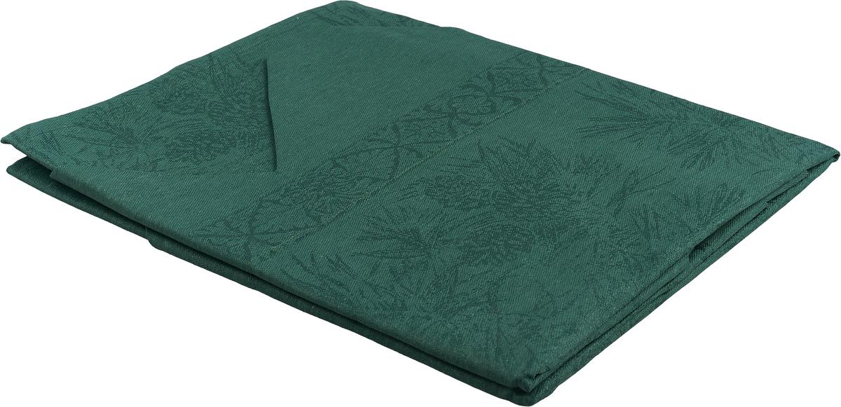 Скатерть Гаврилов-Ямский Лен, 1со3606, темно-зеленый, 110 x 110 см capri одежда из льна