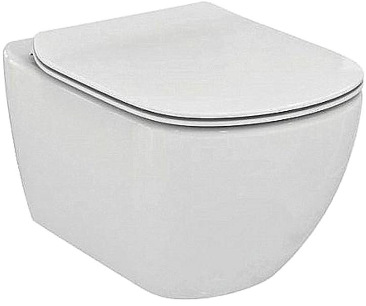 Унитаз Ideal Standard подвесной, T007901, белый унитаз с бачком ideal standard tesi aquablade пристенный с сиденьем микролифт