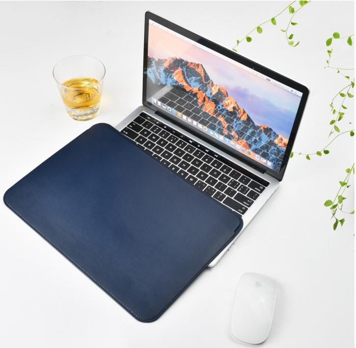 Чехол для ноутбука Wiwu Skin Pro Leather для MacBook 12 синий