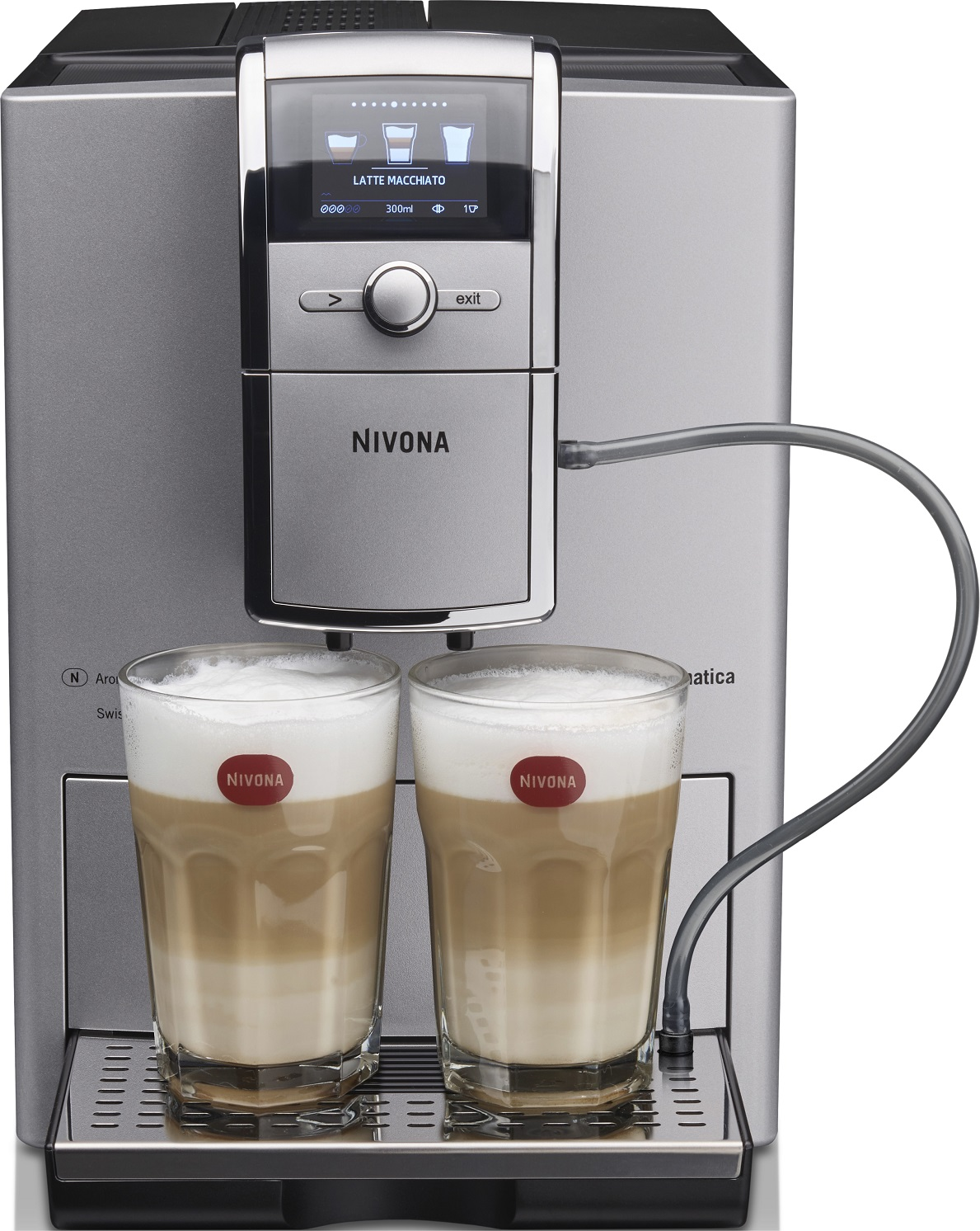 Кофемашина Nivona NICR 842, серебристый
