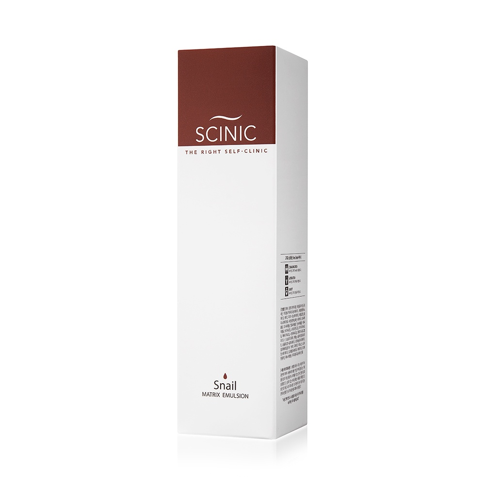 Эмульсия для лица с муцином улитки Scinic Snail Matrix Emulsion, 150 мл