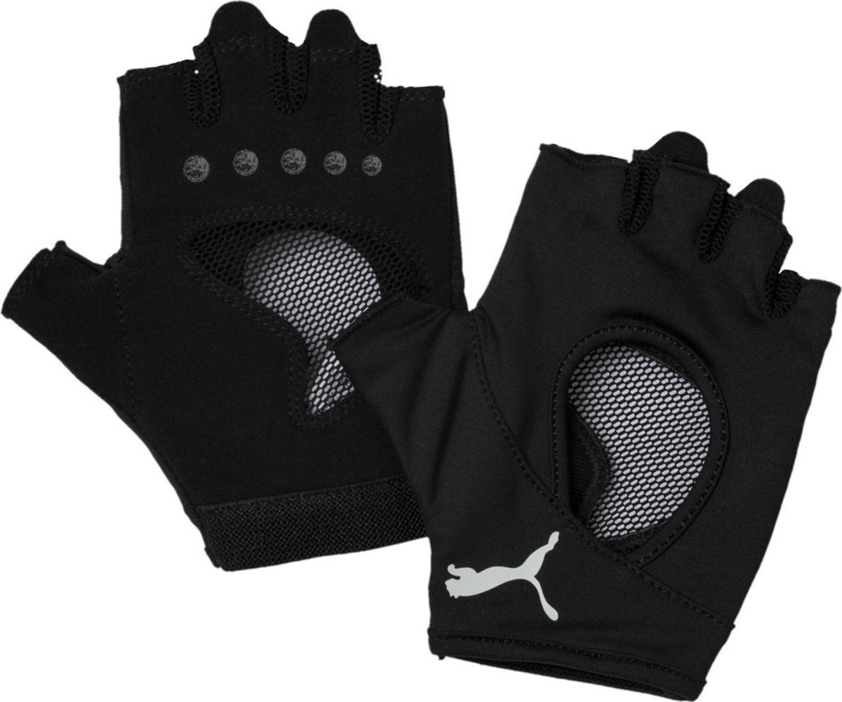 Перчатки снарядные женские Puma AT Gym Gloves, размер M, черный
