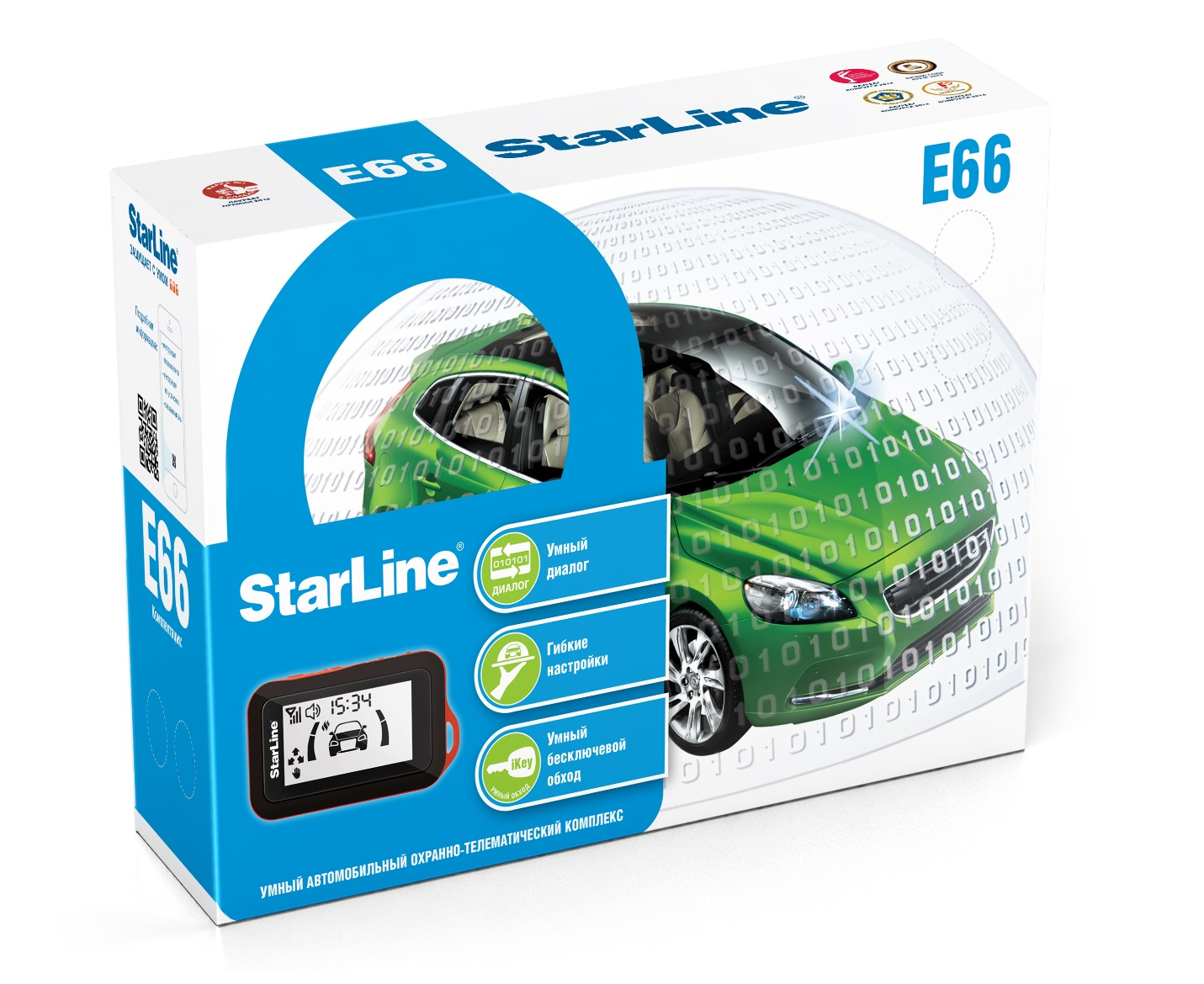 Автосигнализация StarLine E66 BT ECO