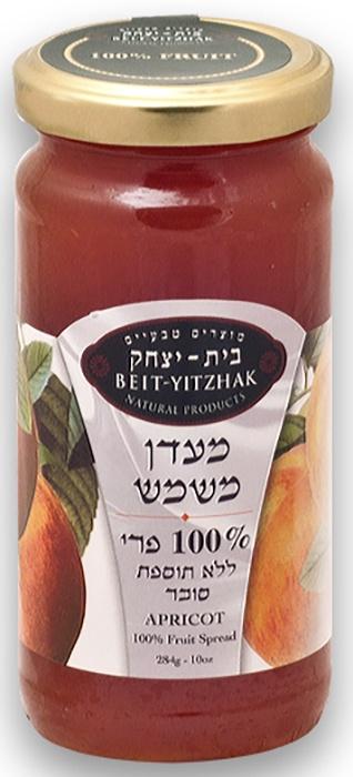 Джем Natural Products Beit Yitzhak LTD «Абрикос» 100% без сахара «Бейт Ицхак» 284г Стеклянная банка, 284