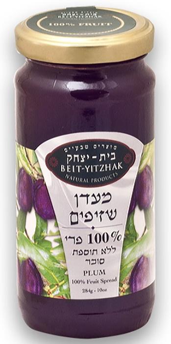 Джем Natural Products Beit Yitzhak LTD «Слива» 100% без сахара «Бейт Ицхак» 284г Стеклянная банка, 284
