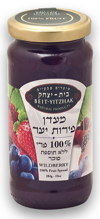 Джем Natural Products Beit Yitzhak LTD «Лесные ягоды» 100% без сахара «Бейт Ицхак» 284г Стеклянная банка, 284