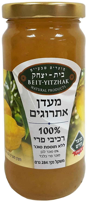 Джем Natural Products Beit Yitzhak LTD «Лимон» (Цитрон) 100% без сахара «Бейт Ицхак» 284г Стеклянная банка, 284