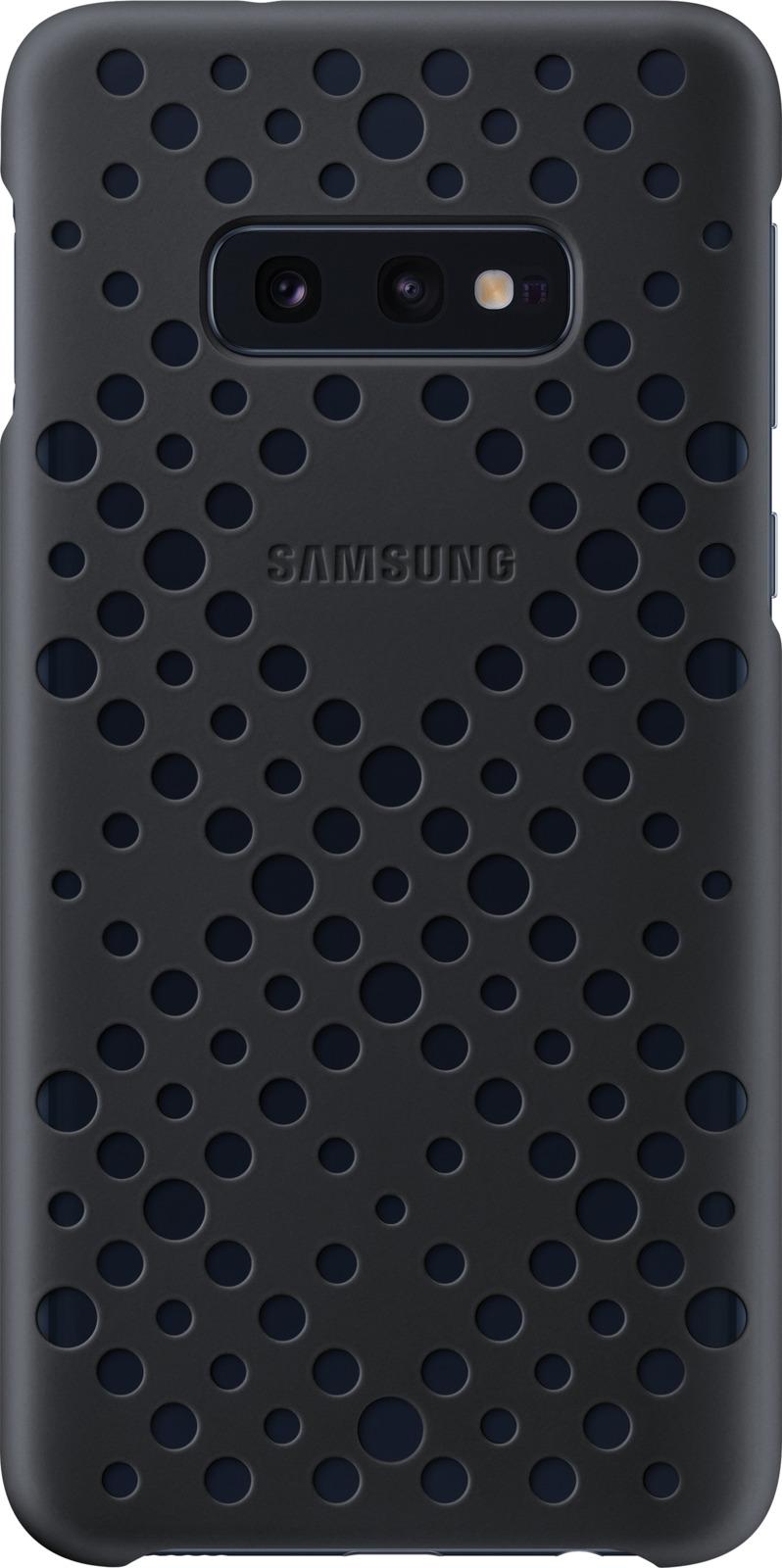 Чехол Samsung Pattern Cover для Galaxy S10e, черный