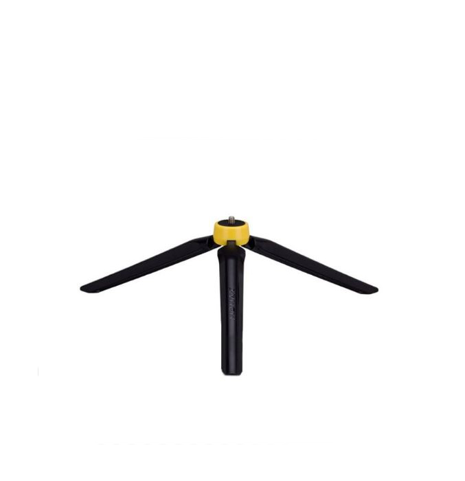 Штатив momax Stable Handy Selfie Tripod, черный, желтый цена и фото