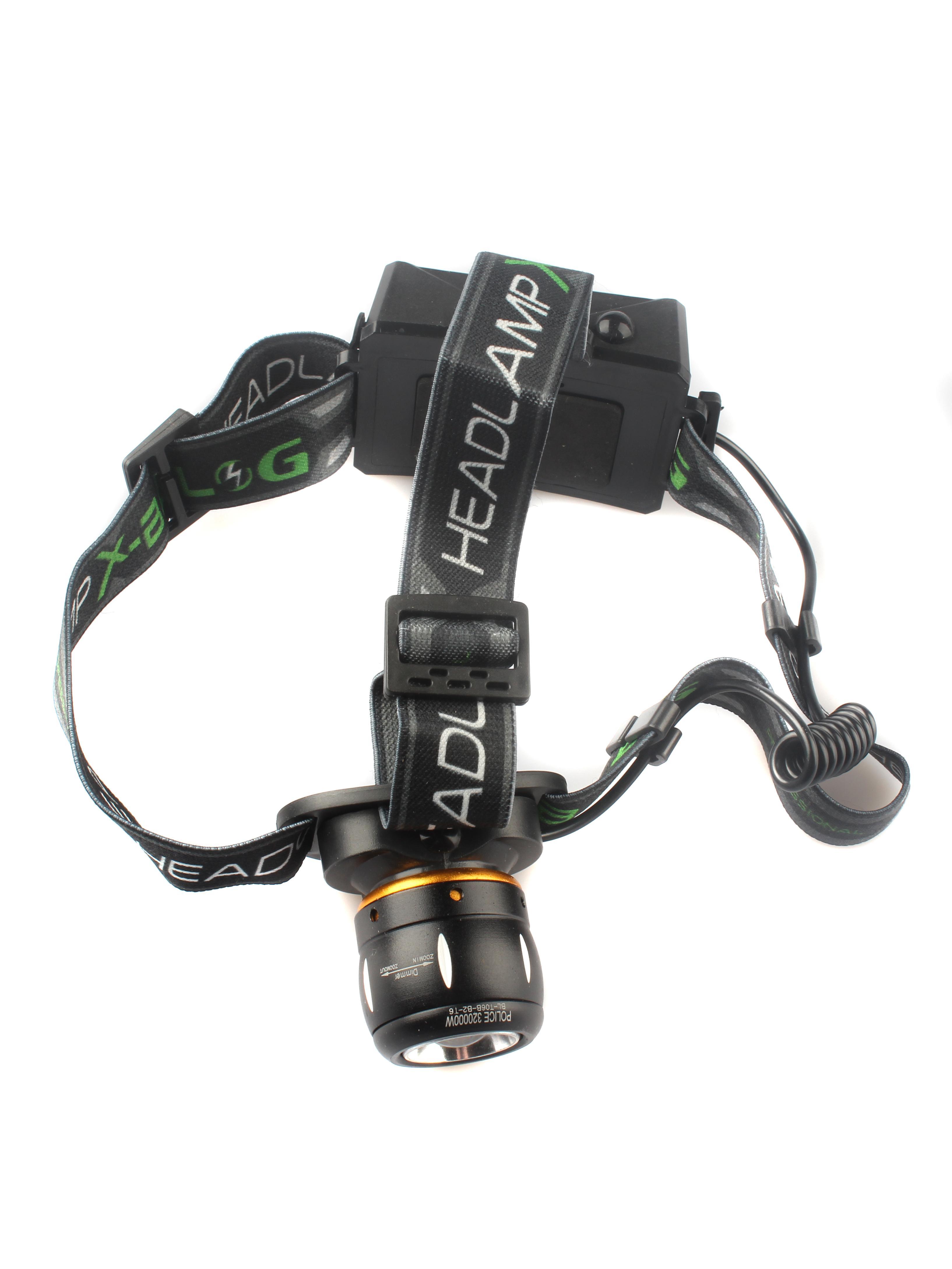 Налобный фонарь TipTop 4605170004412, черный