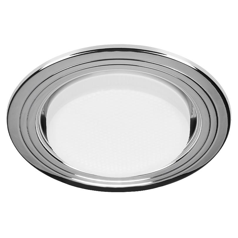 Встраиваемый светильник Lumin'arte DJ02CH-DL50GX53, серебристый светильник встраиваемый акцент wl 182 хром
