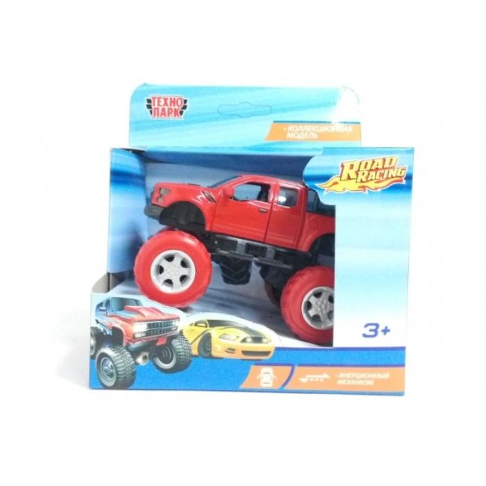 Машинка Технопарк FY6108G-R красный тм технопарк машина металл мутант road racing длина 12 5см в ассорт на блистере в кор 2 180шт