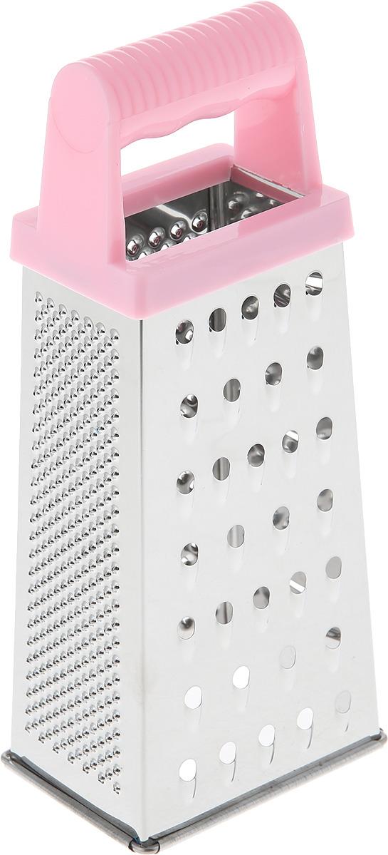 Терка Mayer & Boch, 28297, серебристый, розовый, высота 22 см