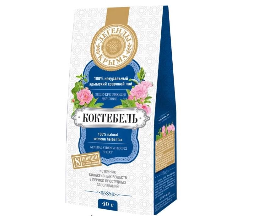Фиточай Floris Легенды Крыма Коктебель, 40 г чай травяной floris легенды крыма алушта 40 г