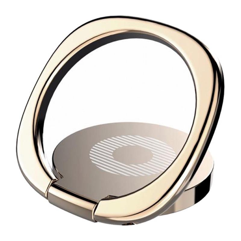 Кольцо-держатель для телефона Baseus Privity Ring Bracket with Magnet Function gold, золотой все цены