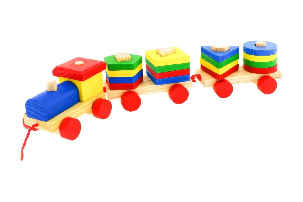Развивающая игрушка IQ Format Сортер паровозик