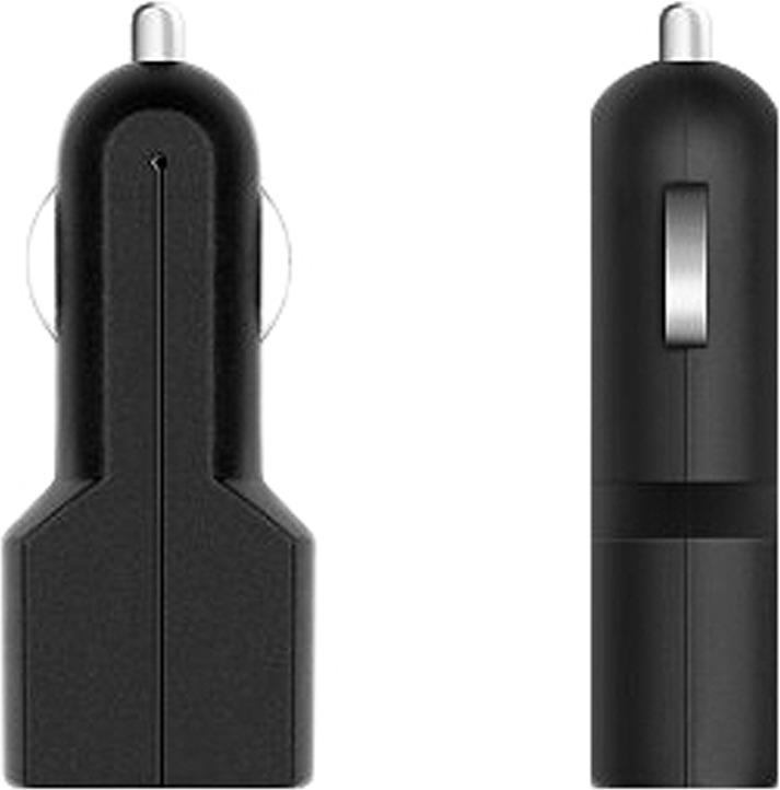 Автомобильное зарядное устройство Prime Line 2204, 1A, черный автомобильное зарядное устройство prime line 2 1a для apple белый 2209