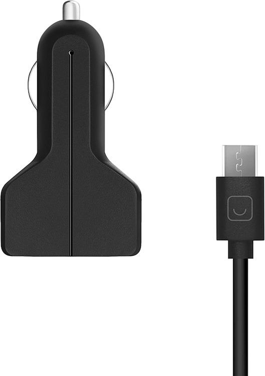 Фото - Автомобильное зарядное устройство Prime Line2213 + кабель microUSB, 2.1A,черный автомобильное зарядное устройство prime line 2226 кабель microusb 2 4a черный