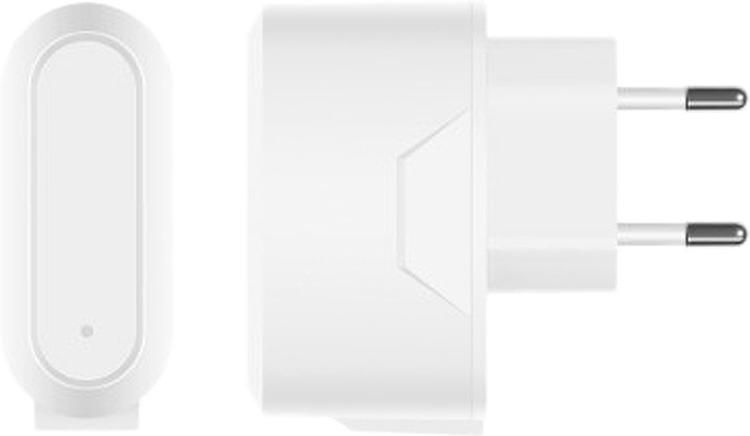 Сетевое зарядное устройство Prime Line 2312, 2.1A, белый